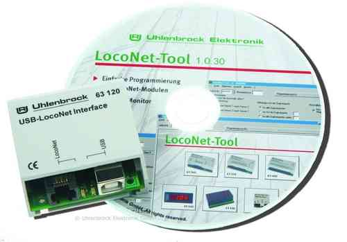 USB-LocoNet-Interface
